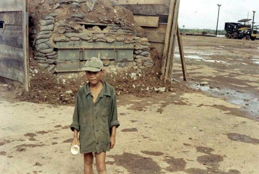 Vietnamese Boy At The Site