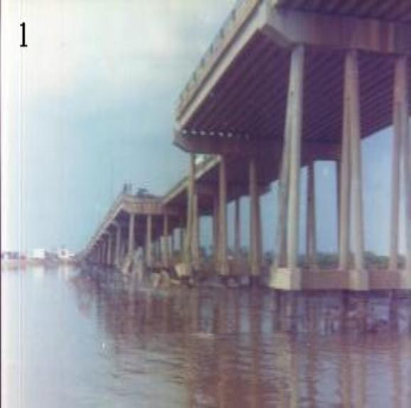 Photo Courtesy of Wayne Ferguson 528th & HHC 4TC - Newport Bridge After VC Hit - May 1968