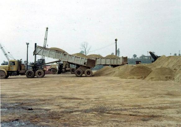 More Sand Being Dumped