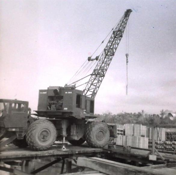 Unloading A Barge